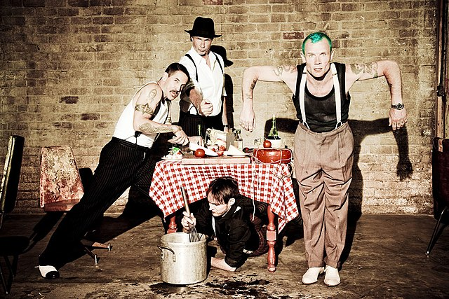 Red Hot Chilli Peppers, Wikimedia Commons