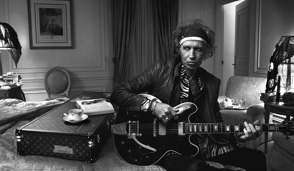 Keith Richards, Flickr