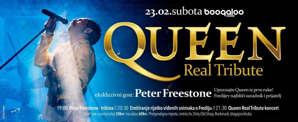 Koncert Queen Real Tributea i ekskluzivni gost Peter Freestone!, foto: Facebook