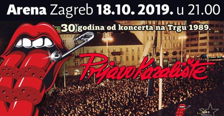Prljavo kazalište, Arena Zagreb